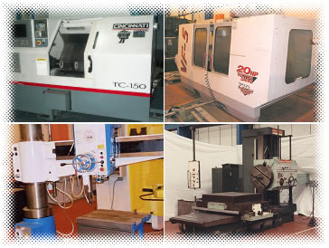 Pictures of new and used Machine Tools