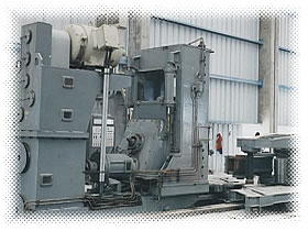 WAGNER Forge Ring Rolling Machine Located in BELGIUM & Supplied together with 1000 ton Forging Press to MEXICO.