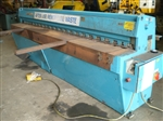 Image of EDWARDS - 3,070 mm x 3.25 mm, Direct Drive Mechanical Guillotine Shear
