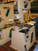 Image of GEKA - 50 Ton, Hydraulic Universal Steelworker with Integrated Bending Tool