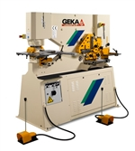 Image of GEKA - 55 Ton, Hydraulic Double Operator Universal Steelworker