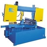 Image of BIGSTONE - 400 x 610 mm Beams capacity, Semi Auto, Column Guides Double Mitre Cutting Horizontal Bandsaw