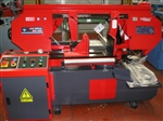Image of QMETAL - 400 mm Rounds Semi Automatic Single Mitre Cutting Horizontal Bandsaw